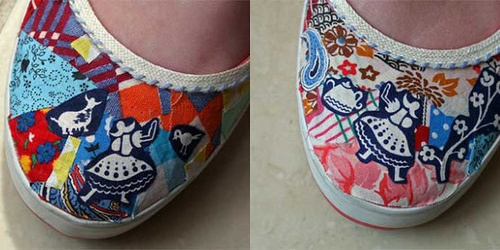 Shoe revamp