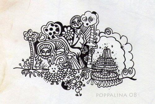 Pen Drawings by Mym